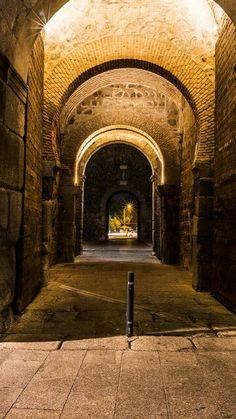Puerta de Bisagra ( interior), Toledo.
