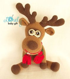 CROCHET PATTERN Deer Amigurumi Deer Pattern by LovelyBabyGift