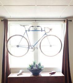 handlebar bike rack!