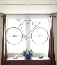 handlebar bike rack!