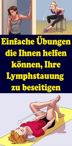 Simple exercises that can help you eliminate your lymphatic stasis - Gesundheit und fitness - Best Food Fitness Workouts, Yoga Fitness, Fitness Motivation, Easy Workouts, Fitness Diet, Quotes Fitness, Enjoy Fitness, Health And Fitness Tips, Health Diet