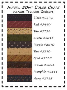 Kansas Troubles Quilters: The Best Thread Ever!