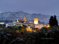 Castelo Novo and Gardunha mountains under snow / by Pedro Albano Brito | Olhares.com