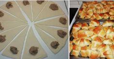 Makové a orechové rožteky - Receptik. Ciabatta, Rigatoni, Pineapple, Dairy, Cheese, Fruit, Food, Recipes, Hampers