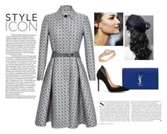 """""""Style Article on HRH"""" by crownprincess-eponine on Polyvore featuring Yves Saint Laurent, Thom Browne, Gianvito Rossi, Ross-Simons, Kershaw, crownprincess and stylearticle"""