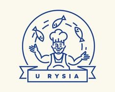 Logo Discover Freshly Fried Fish at Richards Logos, Typography Logo, Logo Branding, Lettering, Packaging Design Inspiration, Graphic Design Inspiration, Art And Illustration, Brand Identity Design, Branding Design