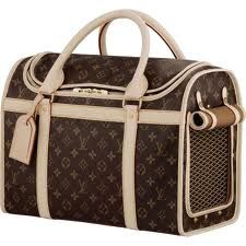 0f4847fe997d When I win the lottery ill get you one for Conan .... Louis. Louis Vuitton  Dog CarrierLouis ...