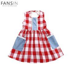 4abf2ef4b 2018 Summer baby girl clothes set Red Lattice tops PP pants Headband 3pcs  Newborn toddler Outfit Children girl Clothing Set #Baby #Newborn #InfantC…