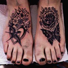 of foot tattoo Tattoo Placement Foot, Foot Tattoos, Body Art Tattoos, Tattoo Feet, Tatoos, Sketch Tattoo Design, Tattoo Sketches, Piercing Tattoo, I Tattoo