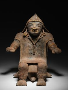 Jama-Coaque Culture Developed from 500 BC - 500 AD in the coastal region of Ecuador.