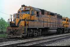 RailPictures.Net Photo: MEC 258 Maine Central EMD GP38 at Waterville, Maine by TC Caughman