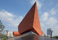Built by CADI in Wuhan, China with date Images by Zhang Guangyuan. 1911 Revolution Museum is a themed museum built to celebrate the anniversary of the Revolution of 1911 Shouyi, . Parametric Architecture, Chinese Architecture, Victorian Architecture, Amazing Architecture, Contemporary Architecture, Wuhan, Arch Building, Kitchen Design Open, Postmodernism