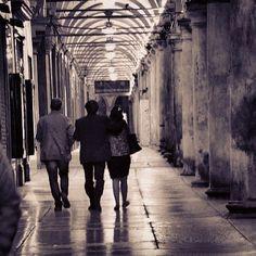 La Città dei portici, La Dotta, Capitale della Cultura e sede della più antica università del mondo occidentale...