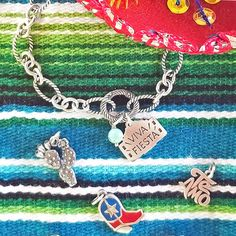 Find your Fiesta spirit no matter where you are with these fun charms! #JamesAvery #VivaFiesta