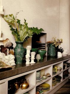 lacloserie:  Kitchen display