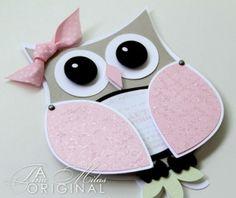 Very Cute owl invitation by erika
