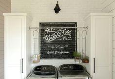 Our Farmhouse Laundry Room | The Farmhouse | Magnolia Farms | Chip & Joanna…