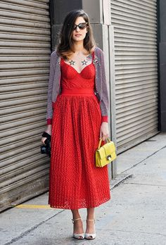 Red alert with Eleonora Carisi soon on www.musestyle.com #musestyle