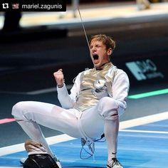 Happy Birthday @race_imboden   HAPPY BIRTHDAY to my Olympic teammate @race_imboden !!! #TeamUSA #fencer #fencing #fechten #escrime #esgrima #scherma #foil #friend #tuna #RoadToRio #winning #athlete #happybirthday #regram by fencing_fie