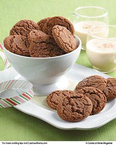 Molasses Spice Cookies | Cuisine at home eRecipes