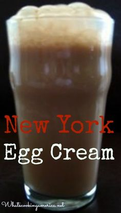 New York Egg Cream: I've never had one, but my dad always talked about wishing he could have one again.  Pinning so I can make it next time we are together.