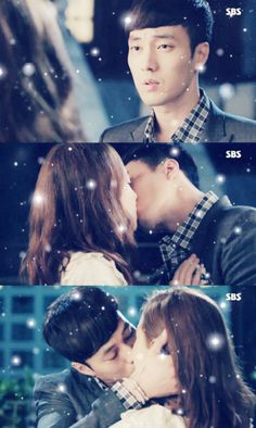 Second kiss!  #MastersSun #kdrama #SoJiSub as #JooJoongWon ♥ #KongHyoJin as #TaeKongSil ♡ episode 11 ♡ #kiss #love #saranghae