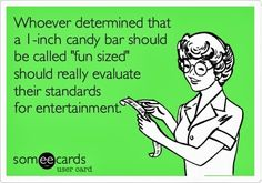 Ecard of the Day   Gettin' ready for Halloween   Posted originally by Addicted to Humor - Google+   #trickortreat #halloweencandy #ecard