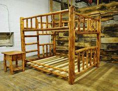 Custom Made Log Furniture