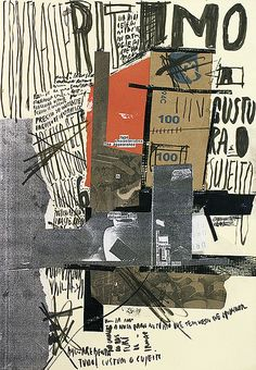 Handmade collage + lettering. Artwork by Ricardo Donato.