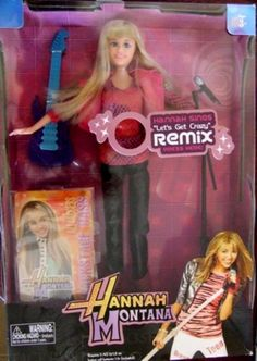 Other Toys - Great Gift Hannah Montana SINGING doll - Excellent ...