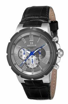 fcc767cbadf 17093GPSGSC3 Relógio Masculino Pulseira de Couro Seculus Prime