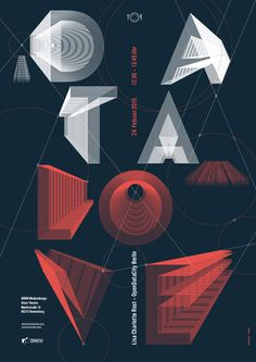 LTT – Lunchtime Talk :: From Data to Meaning With Love – Lisa Charlotte Rost, Berlin. Poster by Daniel Poppele 2015