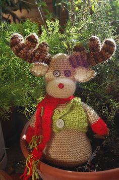 Reindeer - how I wish someone would make this for me!