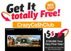 The #CrazyCashClub is simply committed to making cash for them. The website has a lot of beautiful people on it hanging out on the beach. Read more tips @ http://goo.gl/QhWxjS
