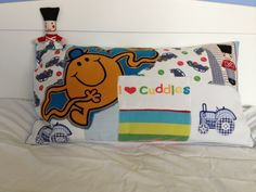 Personalised Memory cushion made from Pjs, and babygrows :)