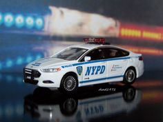 FORD FUSION NYPD NEW YORK CITY POLICE CAR 1/64 SCALE COLLECTIBLE DIECAST MODEL - http://hobbies-toys.goshoppins.com/diecast-toy-vehicles/ford-fusion-nypd-new-york-city-police-car-164-scale-collectible-diecast-model/