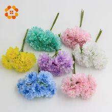 2015 3 cm 12 stks/partij Zijde kunstmatige Meeldraden Bud Boeket bloem voor huis Tuin bruiloft Auto corsage decoratie ambachten planten(China (Mainland))