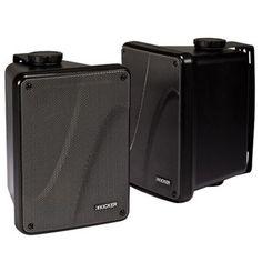 Costco: Kicker KB6000 Full-range Indoor/Outdoor Speakers Black