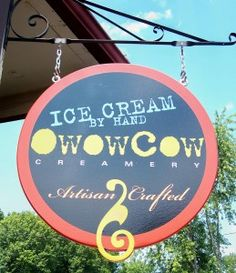 I was never an Ice-Cream person. I prefer water-ice, but since I stepped into this little creamery, my life has changed~ I cannot begin to tell you that this is the BEST ice cream I have ever tasted. Everything is organic & so yummy.