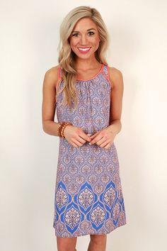 Stitch Fix Stylist: I love the colors and pattern of this shift dress. Would be a great summer dress!