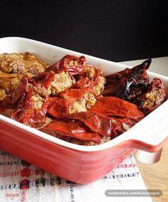 Taste of life: Posne suve paprike sa orasima