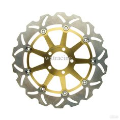 Cheap Front Brake Disc Rotor SUZUKI VZR INTRUDER M1800 R 1800CC 2006 2007 GOLD Online with $189.95| DHgate