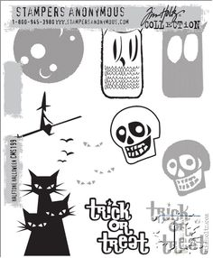 New Tim Holtz stamps from Stamper's Anonymous. Click on the picture to go see more sets. (July 2014)