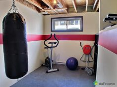 home exercise room | Bungalow for sale sold St-Redempteur, Final amount : $294,000