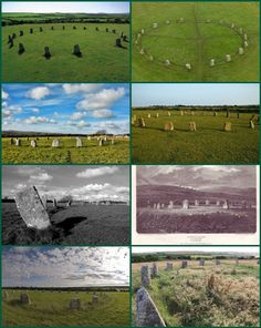 """The Merry Maidens (grid reference SW432245), also known as Dawn's Men (a likely corruption of the Cornish Dans Maen """"Stone Dance"""") is a late neolithic stone circle located 2 miles (3 km) to the south of the village of St Buryan, in Cornwall, A pair of standing stones, The Pipers is associated both geographically and in legend.    Another tradition says that The Pipers were erected to commemorate Howel and Aethelstan, leaders who died in a 10th-century battle."""