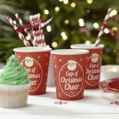 Party Supplies - Cup of Christmas Cheer