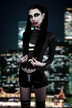 Malkavian Vampire XVI by SamBriggs.deviantart.com on @deviantART