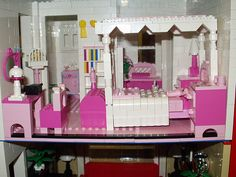 Beacon Hill, Dolls House by Janey Red Brick. Bedroom