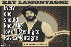 All over it, as soon as we can get this devil out of our jukebox :) #music #raylamontagne