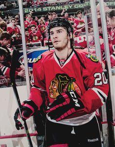Brandon Saad • Chicago Blackhawks • Source: Tumblr/wintermonthnovelty